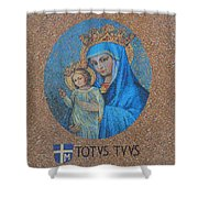 Totvs Tvvs - Jesus And Mary Shower Curtain