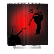 Touch Shower Curtain by Naxart Studio