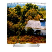 Touch Of Old Country Shower Curtain