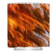 Touched By Fire Shower Curtain