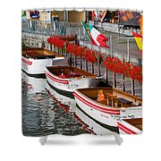 Tour Boats Shower Curtain