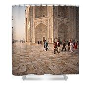 Touring Taj Shower Curtain