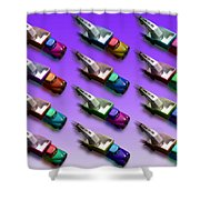 Tow The Line Dance Shower Curtain