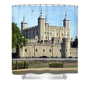 Tower And Traitors Gate Shower Curtain