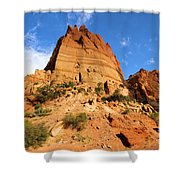 Tower In The Sky Shower Curtain