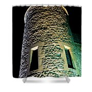 Tower Of London At Night Shower Curtain