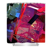 Tower Poly 11 Airstrike 2 Shower Curtain