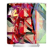 Tower Poly 12 Shower Curtain