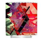 Tower Poly 14 Shower Curtain