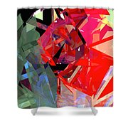 Tower Poly 15 Shower Curtain