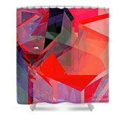 Tower Poly 22 Shower Curtain