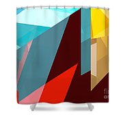 Tower Series 1 Shower Curtain