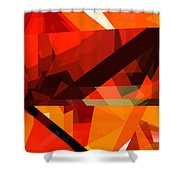 Tower Series 14p Shower Curtain by Russell Kightley
