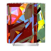 Tower Series 19 Jungle House Shower Curtain
