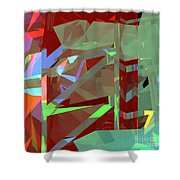 Tower Series 23 Shower Curtain
