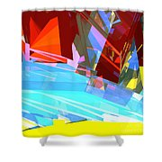 Tower Series 28 Shower Curtain