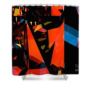 Tower Series 3 Shower Curtain