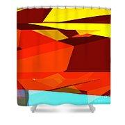Tower Series 35 Australian Colours Shower Curtain