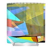 Tower Series 37 Australian Summer Shower Curtain