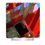 Tower Series 41 Mineshaft Shower Curtain