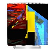 Tower Series 42 Diving Board Shower Curtain