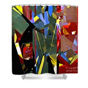 Tower Series 46 Shower Curtain