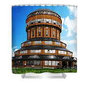 Tower That Inspired Metropolis Shower Curtain
