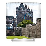Tower Tower Shower Curtain