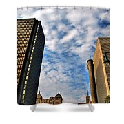 Towering Towers Shower Curtain