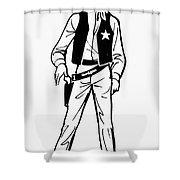 Town Marshall Shower Curtain
