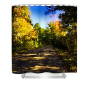 Townline Road Shower Curtain
