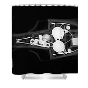 Toy Car X-ray Shower Curtain