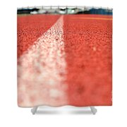 Track Line Shower Curtain