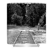 Abandoned Rails Shower Curtain