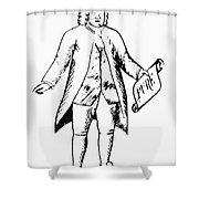 Trademark: Quaker Oats Shower Curtain
