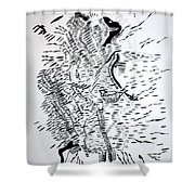 Traditional Dance - Central African Republic Shower Curtain