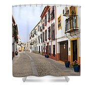 Traditional Houses In Cordoba Shower Curtain