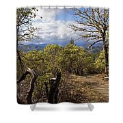 Trail At Cathedral Hills Shower Curtain