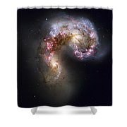 Trailing Streamers Of Gas And Stars Shower Curtain