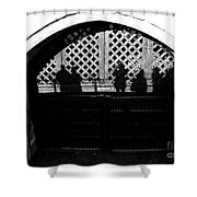 Traitors Gate And Ghostly Images  Shower Curtain