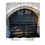 Traitors Gate Shower Curtain
