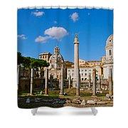 Trajan's Market Shower Curtain