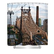 Tram View East Shower Curtain