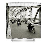 Trang Tien Bridge Shower Curtain