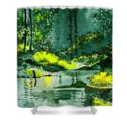 Tranquil 1 Shower Curtain