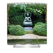 Tranquil Buddha Shower Curtain