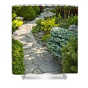Tranquil Garden  Shower Curtain