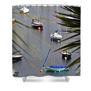 Tranquillity Two Shower Curtain
