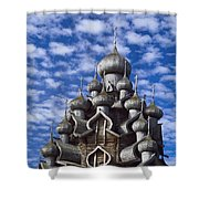 Transfiguration Cathedral Shower Curtain