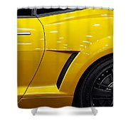 Transformers Camaro Shower Curtain